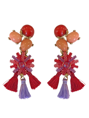 Tassel earrings RRP $235 <BR> now 60% off <BR> SALE PRICE $94