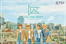 "IZ ""All you want"" Poster"