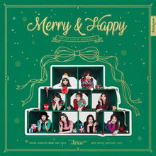 "TWICE ""MERRY&HAPPY"""
