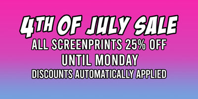 4th of July Print Sale