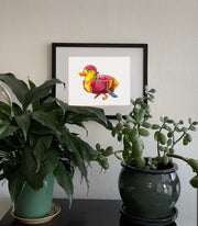 Pirate Duckie Signed Print