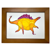 Original Framed Drawing Sun Steggo