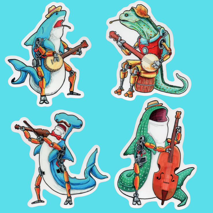 Bluegrass Sticker Pack