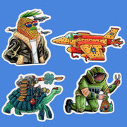 Commandos Sticker Pack