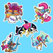 Killer Wails Sticker Pack