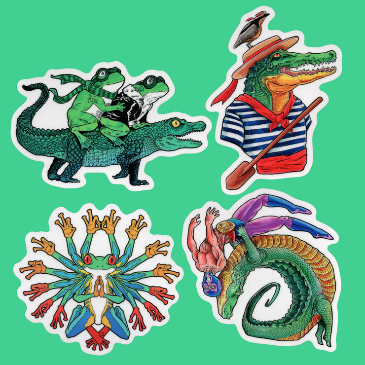 Swamp Boys Sticker Pack