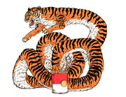 Tiger Soup Limited Edition Screen Print