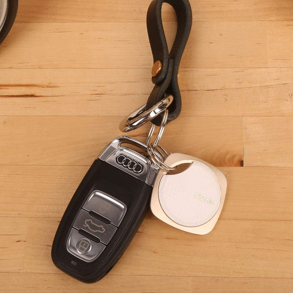 Nut mini (F6)- Small Bluetooth tracker, replaceable battery. Pink