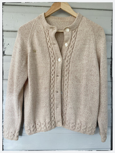 Handknitted cardigan Womens 8/ girls 14