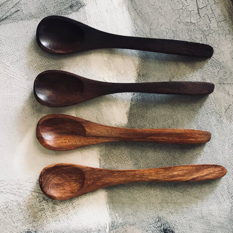 Little wooden spoons