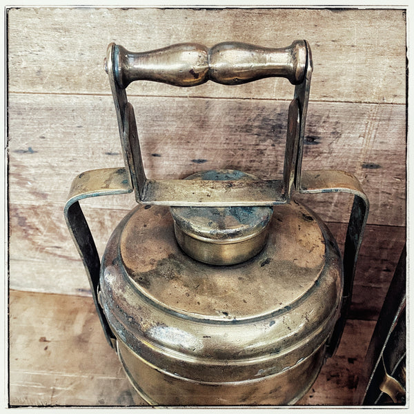 Vintage Brass tiffin
