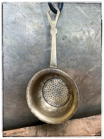 Small brass strainer