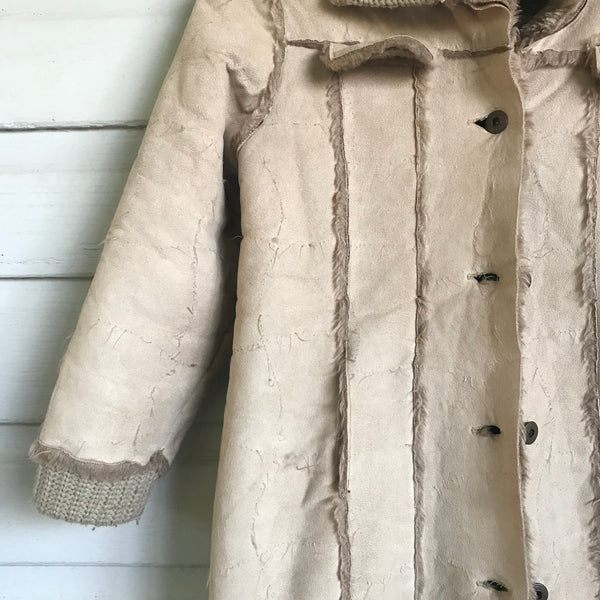 Shearling jacket size 8-10