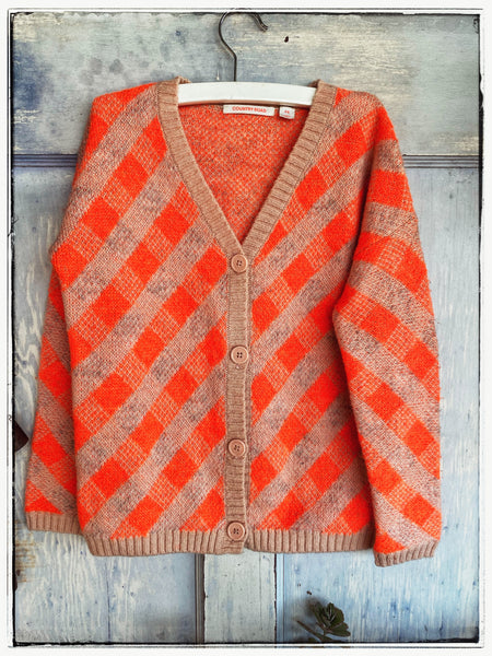 Country Road argyle cardi Size 8