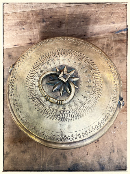 Antique chapati tin 6