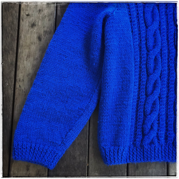 Cable knit jumper Girls 14/Womens 8