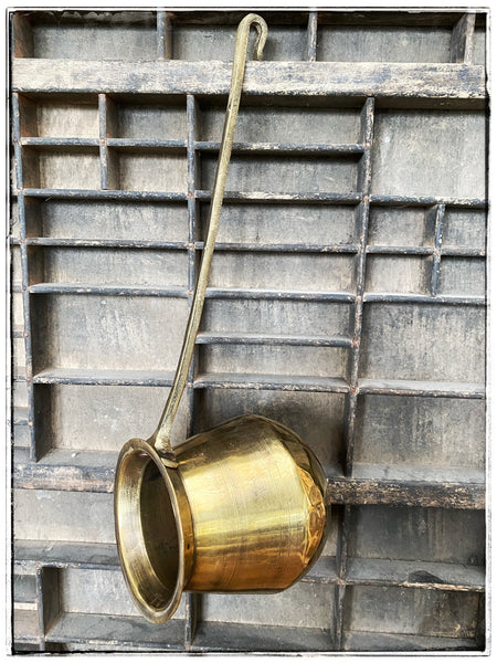 Antique brass lota