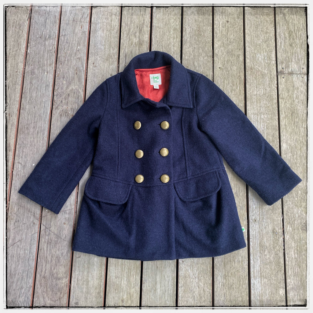 BIG by Fiona Scanlan Pea coat Size 4-6