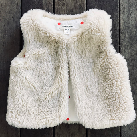 Country Road fur vest