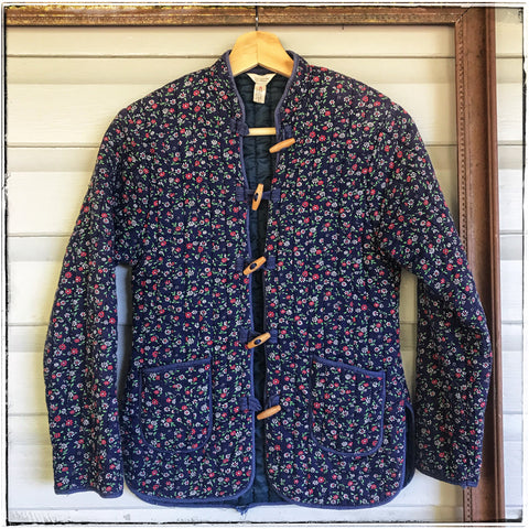 Vintage Chinese quilted jacket