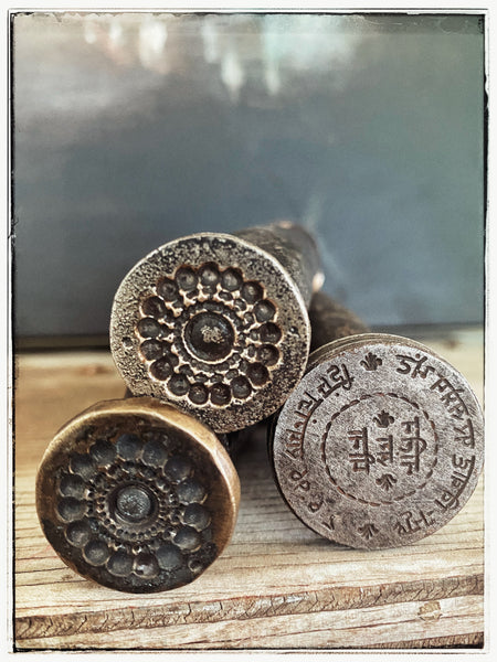 Antique Rajasthani stamps