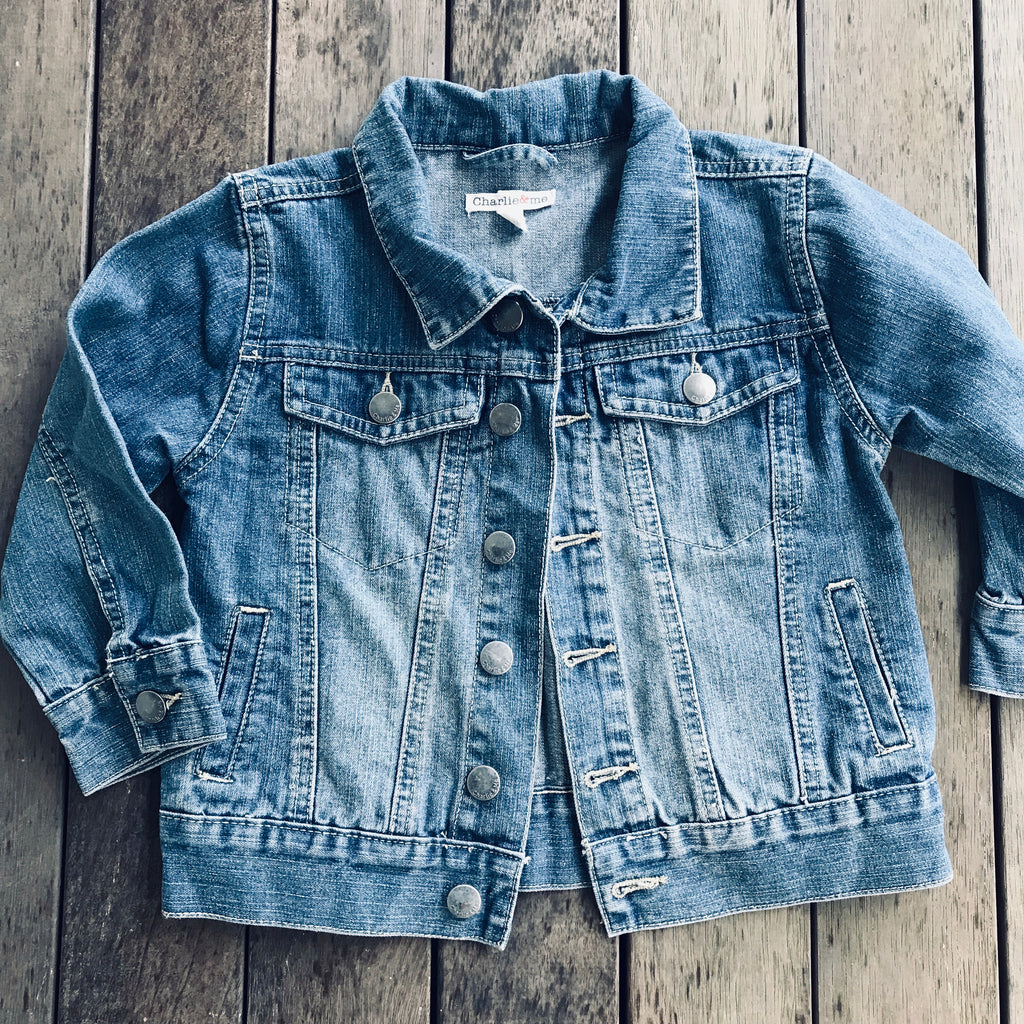 Denim jacket size 4