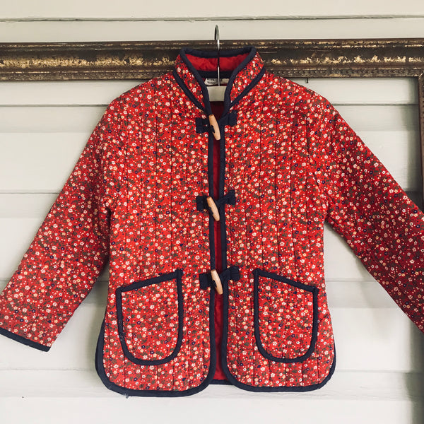 Vintage Chinese quilted jacket size 5
