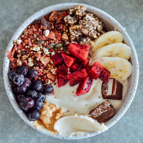 smoothie bowl fruit bayshore