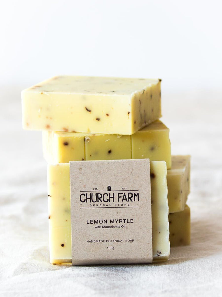 Lemon Myrtle and Macadamia Oil Soap