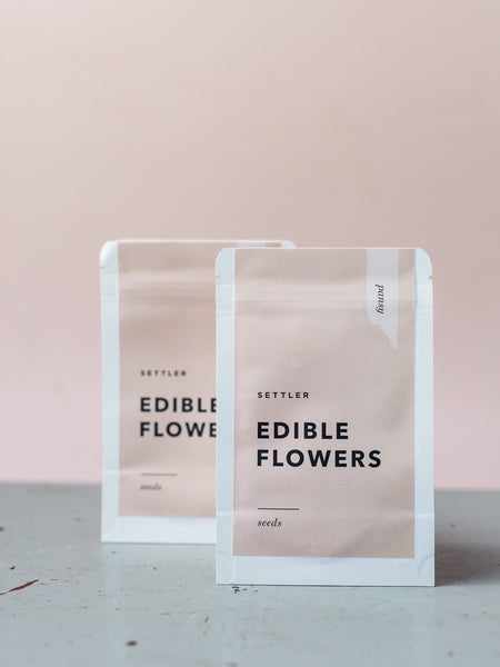 Settler Edible Flower Seeds