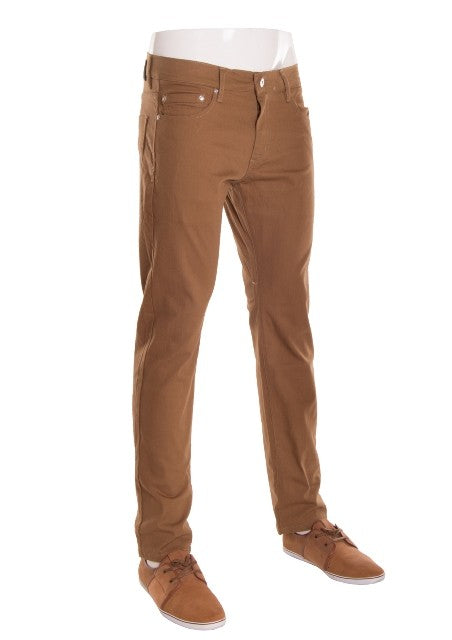 Men's Stretch Skinny Jeans - Tobacco