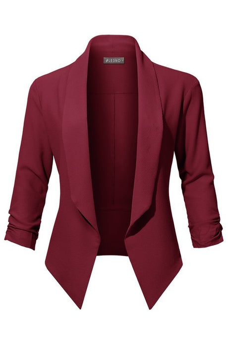 Everyday Blazer - Wine