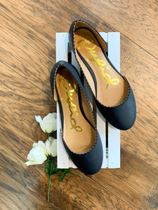 Easy Stride Black Flats