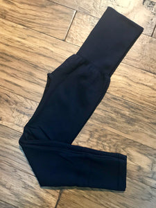 Navy - High Waist Leggings