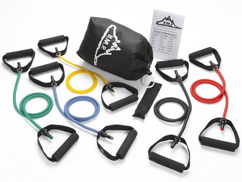 Set of 5 Resistance Bands Plus Guide and Bag - Resistance Bands - Resistance Bands Australia - 1