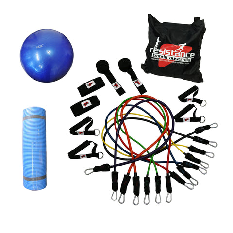 Ultimate Resistance System - Getting Started Package - Resistance Bands - Resistance Bands Australia - 1