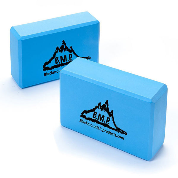 Blue Set of Two Yoga Blocks -  - Resistance Bands Australia - 1