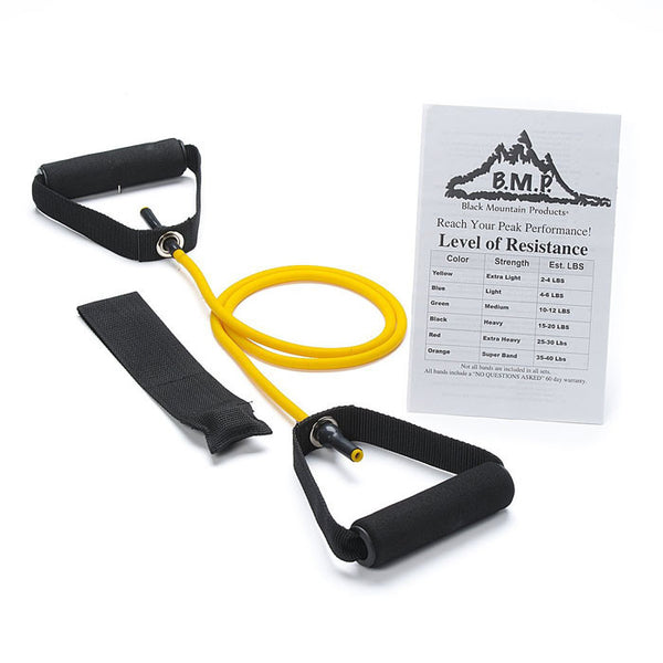 0.5 - 2 Kg Single Resistance Band with Door Anchor - Resistance Bands - Resistance Bands Australia - 1