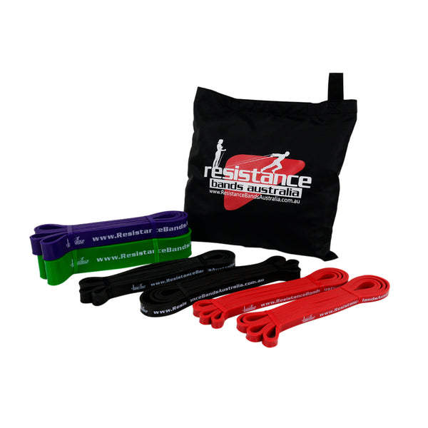 Resistance Bands - Advanced Pro Loop Dual Station Set Up ++ Package