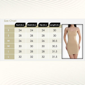 Slimming Full Slip Under Dresses