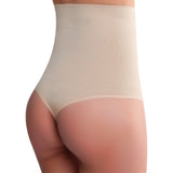 Seamless High Waist Tummy Control Thong Shaperwear