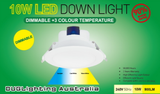 10W Led Temperature Changing Downlight
