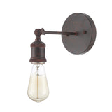 Vintage Light Sconce Bulb Included Weathered Rust (ED268W-RD)