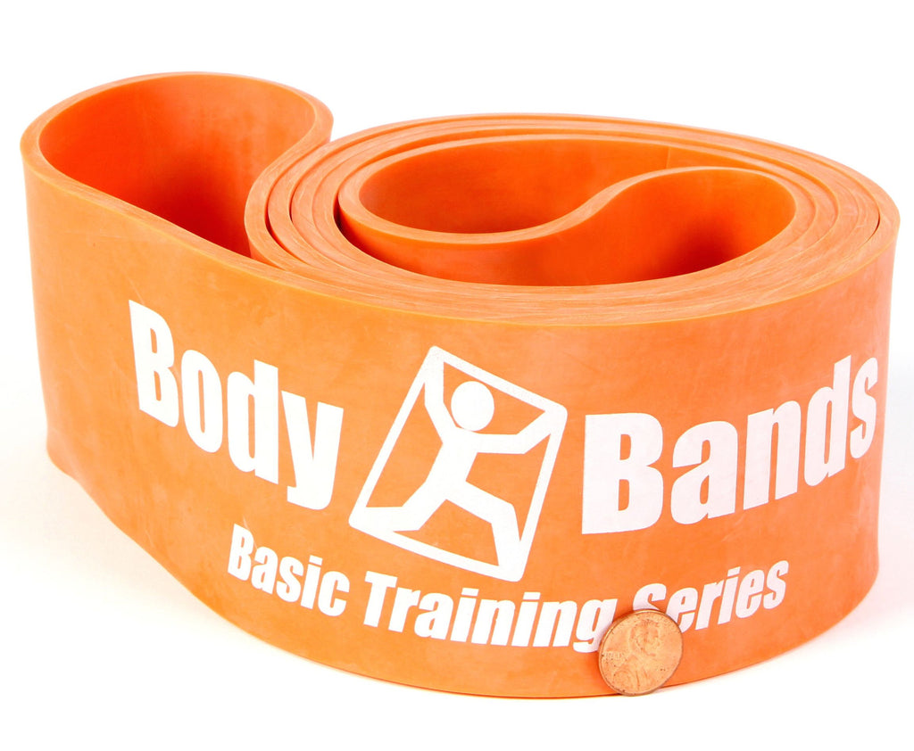 Dark Orange 3 1/4-inch Loop Band