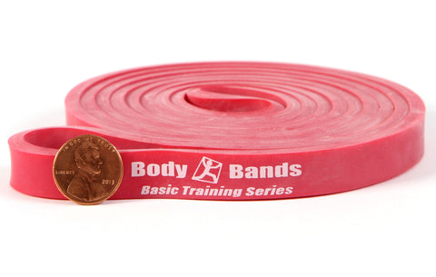 Red 1/2-inch Loop Band