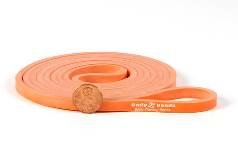 Orange 1/4-inch Loop Band