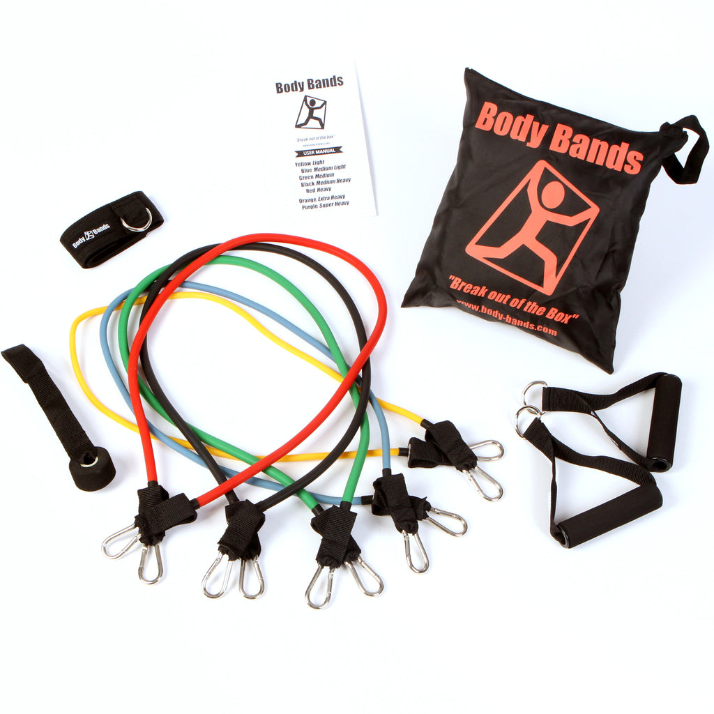Resistance Tubing Band Set 5
