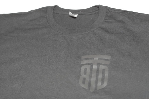 Subdued Shield T-Shirt - Left chest print