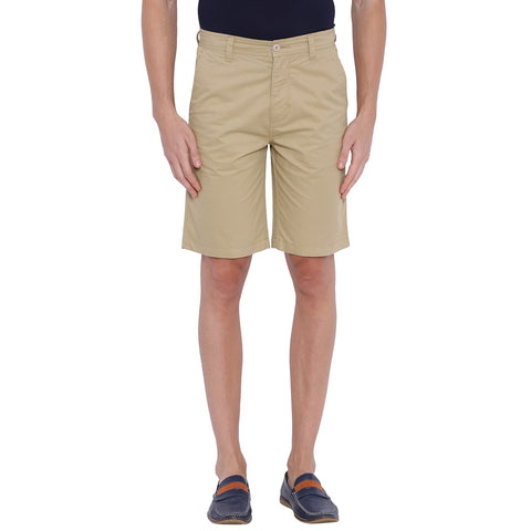 Blue Wave Khaki Casual Short for Men