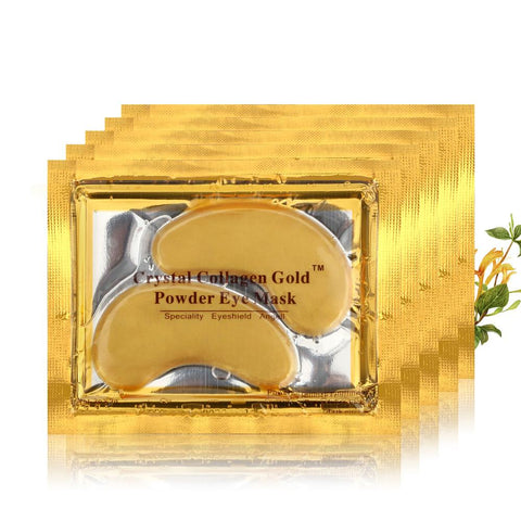 Gold Crystal Collagen Eye Mask (10 Pack)